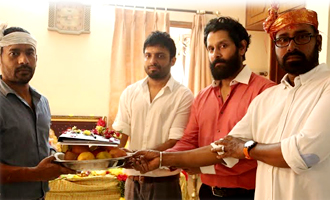 Vikram-Anand Shankar Movie Pooja