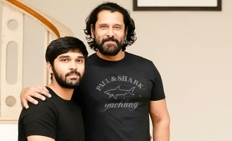 Official: Massive announcement on Chiyaan Vikram's 60th movie!