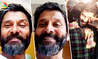 Vikram overwhelmed : thanks fans for love and support