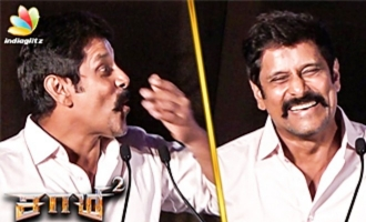 Vikram Unfortunately Reveals Saamy 2 Story