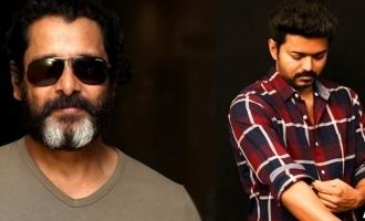 Chiyaan Vikram hints about Vijay's 'Thalapathy 65'