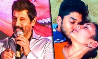 It's now competition for Dhruv and I: Vikram Speech at Varma Audio Launch