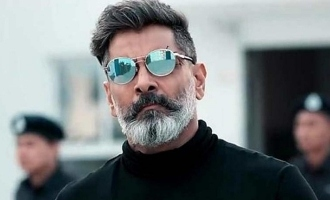 Perfectionist! Vikram risked his life once again for a single shot in 'Cobra'
