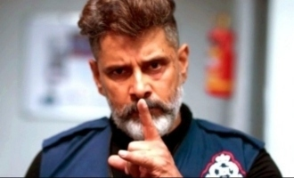 Is Vikram playing the villain to another hero for the first time in his career?