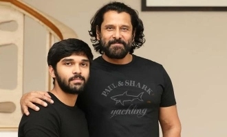 Chiyaan 60 team gets ready to shoot after taking protection from covid 19