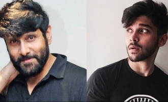 Vikram and Dhruv to play the same character in new movie?