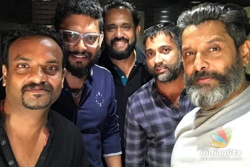 Vikram starts shooting for his mega epic from today