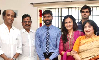 Superstar Rajinikanth kick starts VIP2