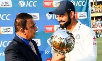 Sunil Gavaskar is angry with Kohli for this reason