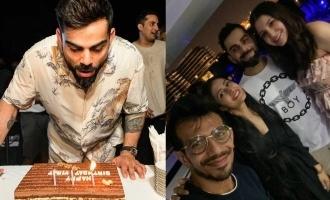 Anushka and RCB team celebrate Virats birthday in Dubai