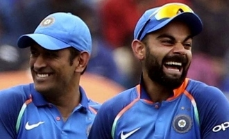 Viral Video: Fans display 'We miss you Dhoni' banner during T20I; Virat Kohli reacts