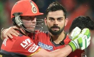 Virat Kohli reveals 'special chat' he had with AB de Villiers before scoring half-century