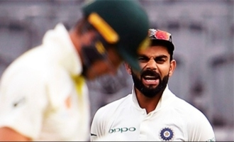 Virat kohli snaps at reporter for questioning his on field behaviour in press conference