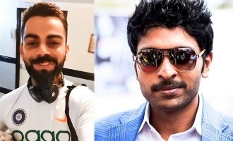 Virat Kohli's sweet surprise to Vikram Prabhu!