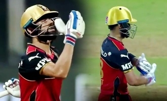 IPL 2021: Virat Kohli dedicates his half-century to daughter Vamika, video goes viral
