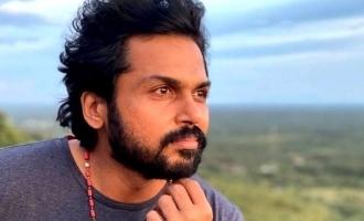 Karthi kickstarts shooting for his next! - Hot Update
