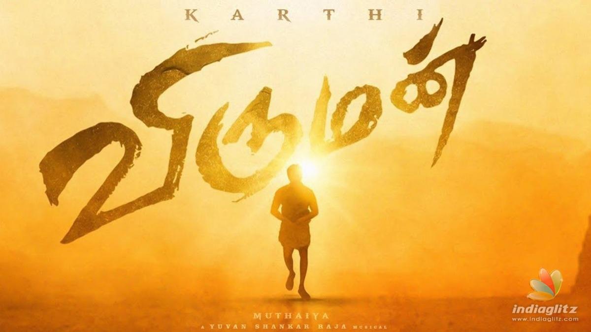Karthi to sport a fresh look in Muthaiahs 'Viruman'! - Latest Update
