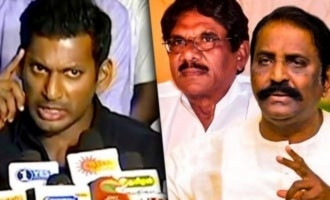 Ilayaraja 75 : Why Vairamuthu & Bharathiraja Didn't Come? | Vishal Press Meet