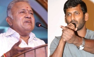 Vishal lashes out at Radha Ravi!