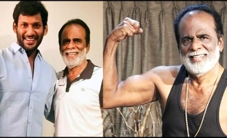 Netizens amazed by Vishal's father stunning fitness at 82 years!