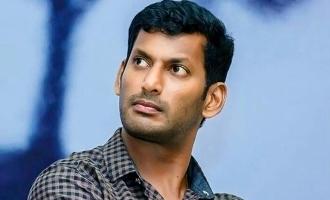 'இந்தியன் 2' விபத்தில் பலியானவர்களுக்கு அஞ்சலி செலுத்திய விஷால்!