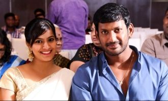 Varalakshmi reveals Vishal's excuse for postponing marriage