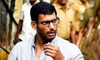 Vishal decides to fight TN government!