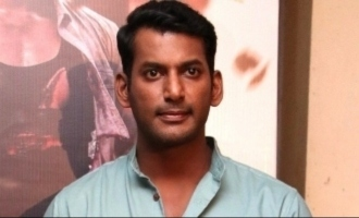 Vishal's new movie announced with a novel motion poster