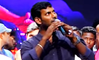Cauvery water issue : Vishal speaks up for Tamil rights, in Karnataka