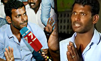 Vishal's Nomination For RK Nagar By Poll Rejected, Then Accepted