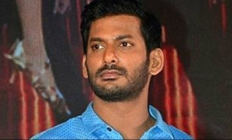 Did Vishal refuse to save the life of his car driver?
