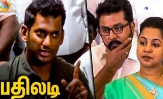 Vishal's Strong Reply to Sarathkumar