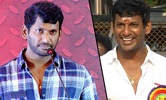 I'm Scared With The Title 'Thalaivar' : Vishal Speech