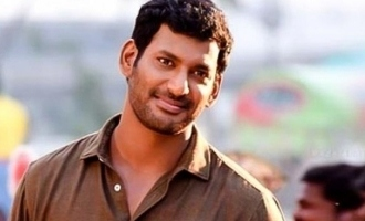 The powerful title teaser of Vishal's next movie is here
