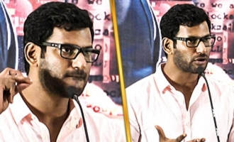 Vishal's Mass Reply to his Enemies - Angry Speech