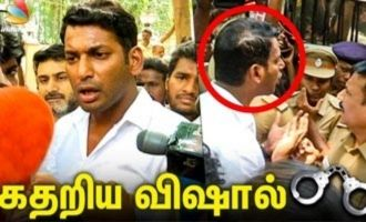 No One Can STOP ME : Vishal Angry Speech