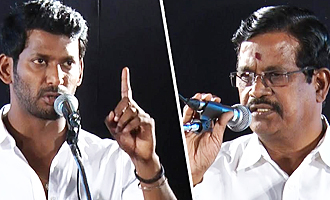 Vishal announces 1 Lakh price for reporting piracy act in theaters