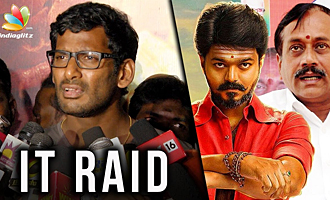 GST officials conduct raid at VFF office | Vishal slammed H Raja for watching Mersal online