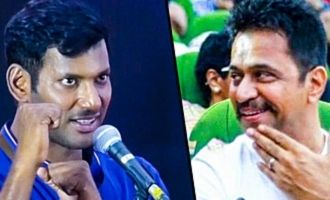 Arjun Paid Rs.100 as my First Salary : Vishal Speech