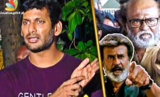 Don't Mix Politics with Cinema : Vishal Speech