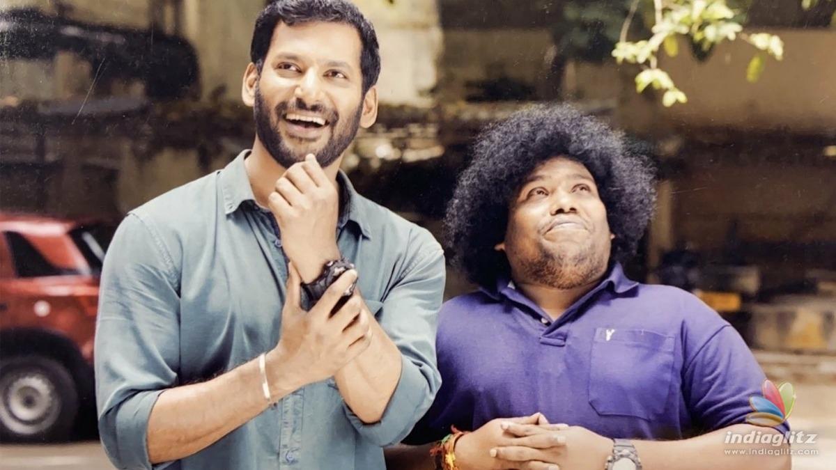 Steaming update on Vishal's 'Veeramae Vaagai Soodum'!