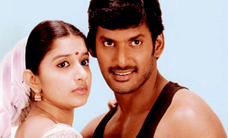 Vishal's lucky Heroine with him after Eight Years