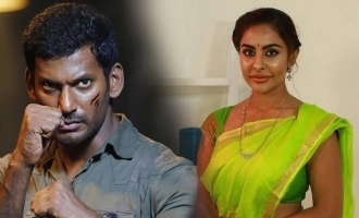 Sri Reddy makes sensational allegations against Vishal