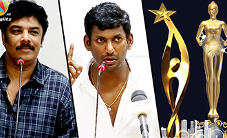 Vishal Team's First Press meet : Producer Council will conduct Cinema Award