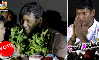 Vishal's Victory Speech : Get ready to FIGHT