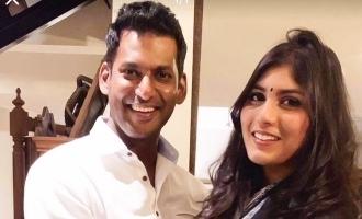 Anisha's romantic wishes to Vishal!