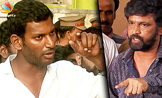 Vishal Responds to Cheran's Protest in Producer Council