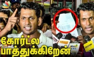 Vishal Speech After Release