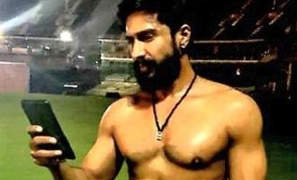 Vishnu Vishal surprises with his chiseled look!