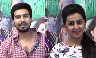 Nervous about my first comedy genre : Vishnu Vishal & Nikki Galrani Interview